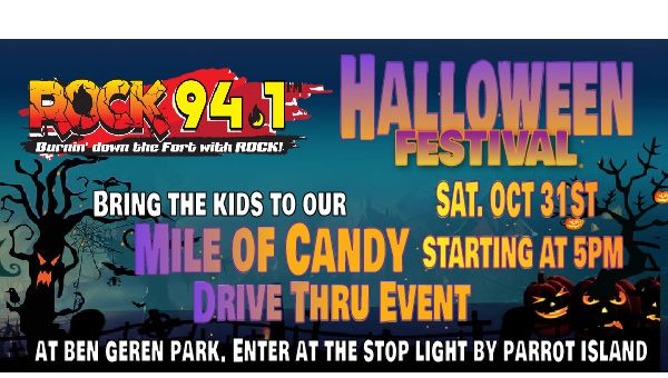 Rock 94.1 Mile of Candy